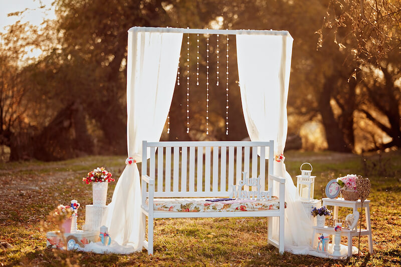1632420197 502 Seating for a garden wedding stylish and comfortable - Seating for a garden wedding: stylish and comfortable