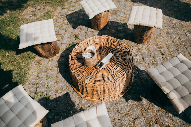 1632420198 873 Seating for a garden wedding stylish and comfortable - Seating for a garden wedding: stylish and comfortable