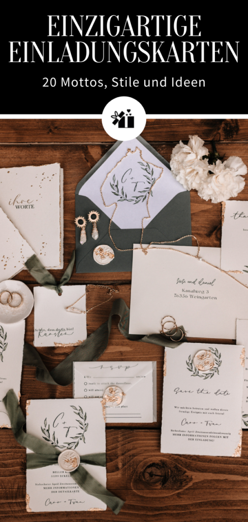 1632449962 858 Unique wedding invitations 20 themes and styles - Unique wedding invitations: 20 themes and styles