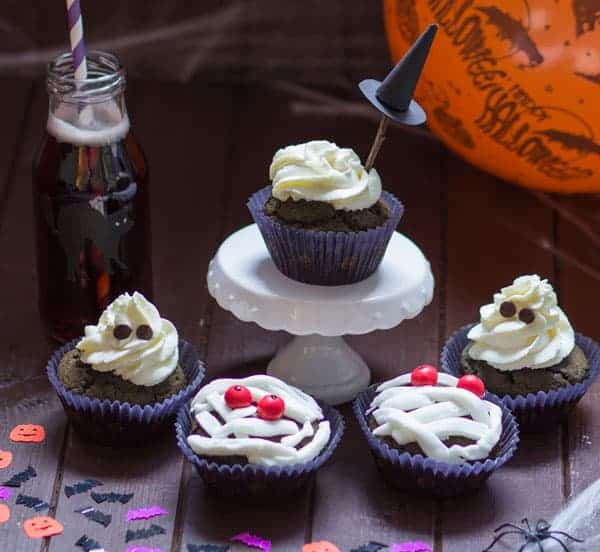 Sweet Halloween Cupcakes Muffin Recipe Easy Delicious - Sweet Halloween Cupcakes & Muffin Recipe> Easy & Delicious